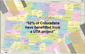 Click to view UTA's reach in Colorado